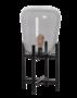 Tafellamp Benn Mini Zwart Smoke